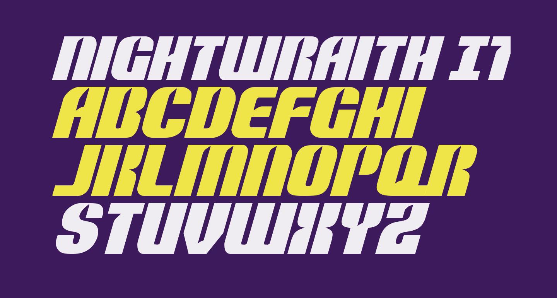 Nightwraith Italic
