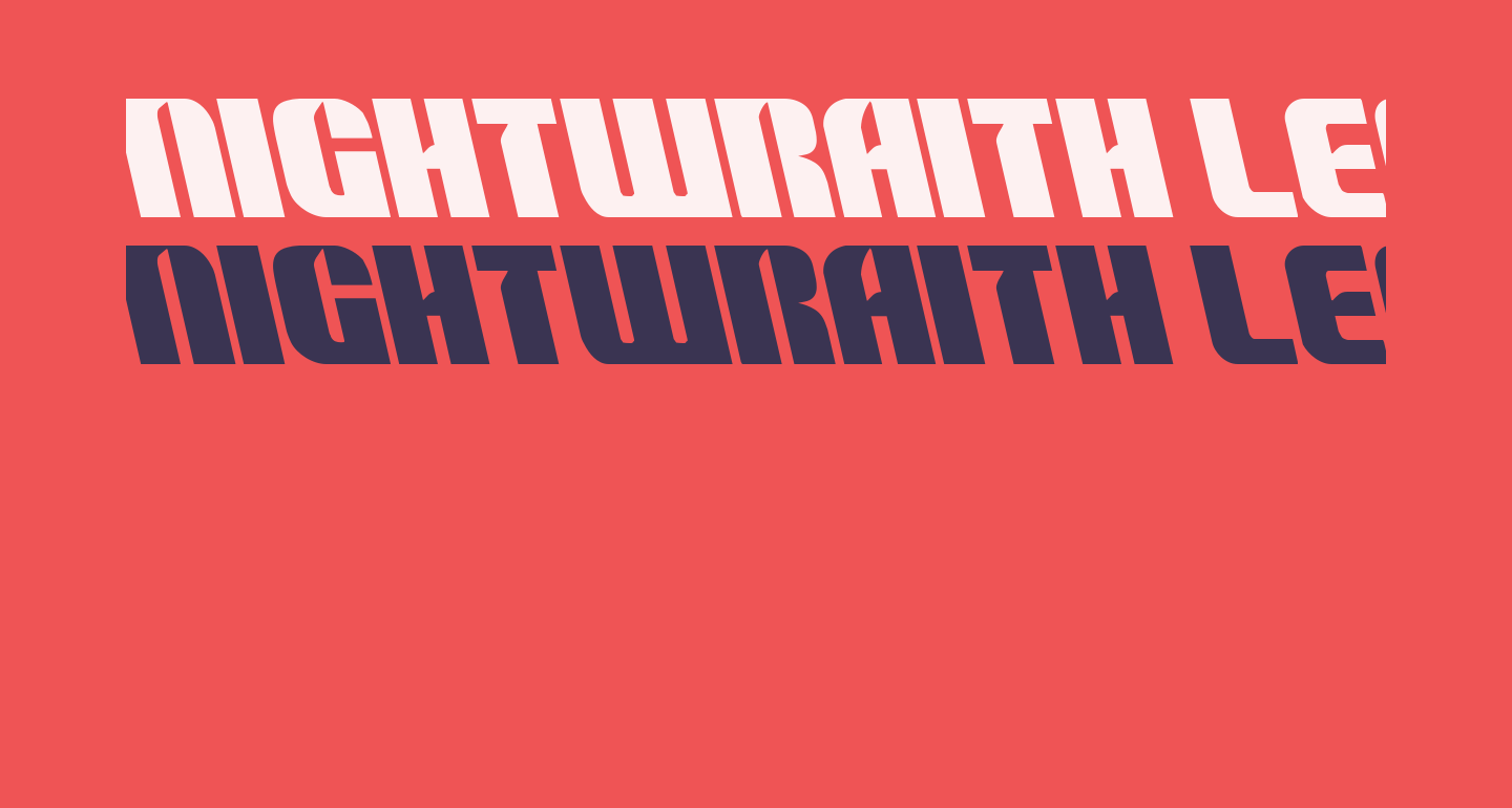 Nightwraith Leftalic