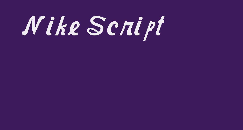 Nike Script