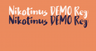 Nikotinus DEMO Regular