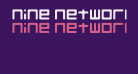 Nine Network logo font v2 Regular