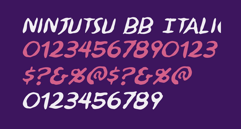 Ninjutsu BB Italic