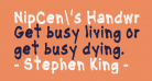 NipCen's Handwriting CondBd