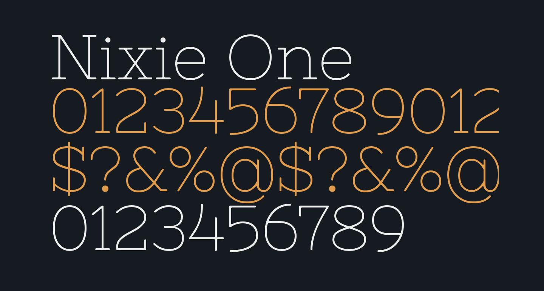 Nixie One