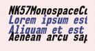 NK57MonospaceCdEb-Italic