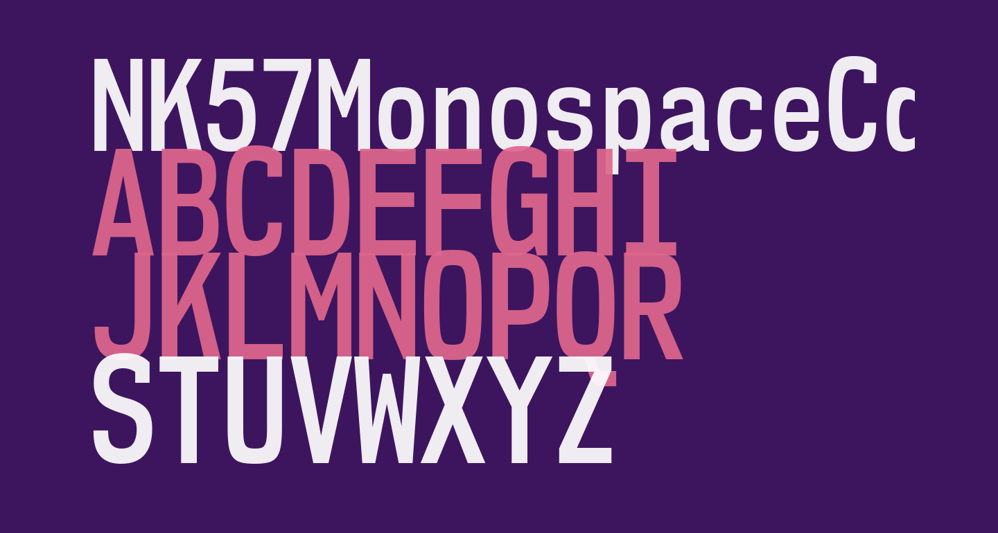 NK57MonospaceCdSb-Regular