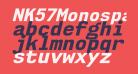 NK57MonospaceEb-Italic