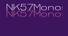 NK57MonospaceExLt-Regular