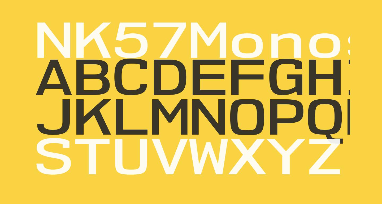 NK57MonospaceExSb-Regular