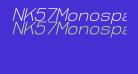 NK57MonospaceLt-Italic