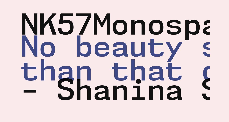 NK57MonospaceSb-Regular