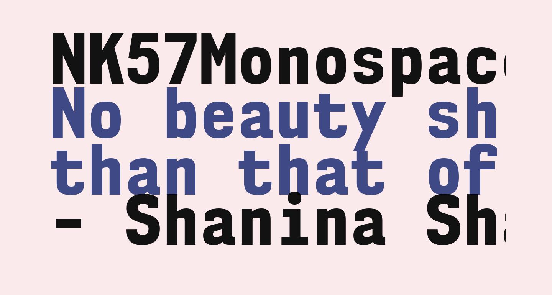 NK57MonospaceScEb-Regular