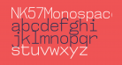 NK57MonospaceScLt-Regular