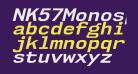 NK57MonospaceSeRg-BoldItalic