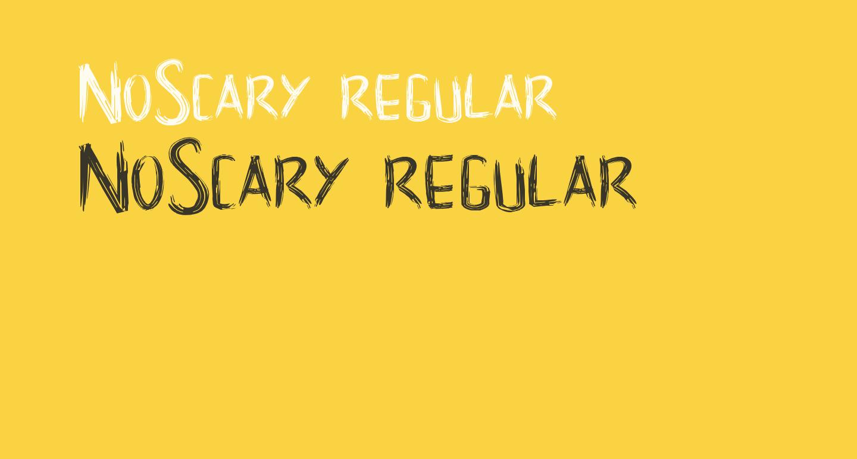 NoScary regular