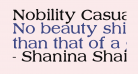 Nobility Casual