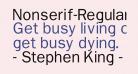 Nonserif-Regular