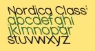 Nordica Classic Light Extended Opposite Oblique