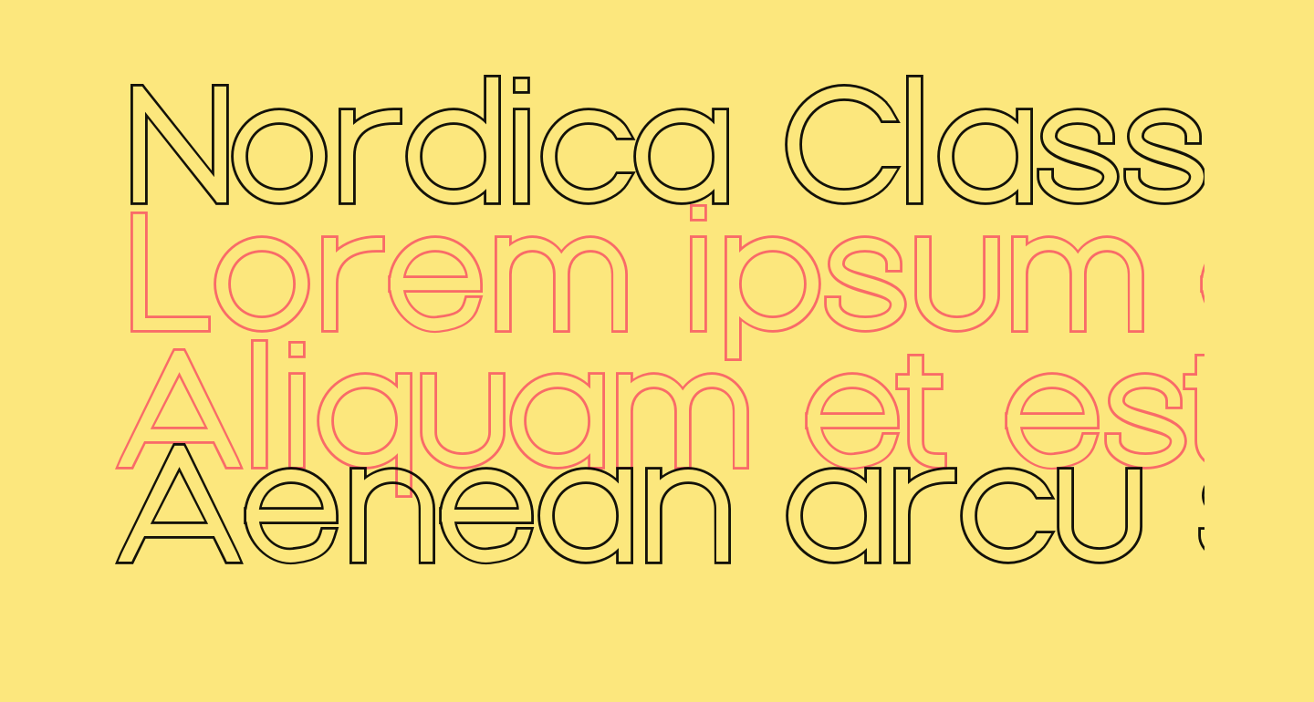 Nordica Classic Light Extended Outline