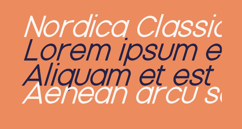 Nordica Classic Light Oblique