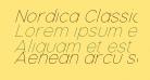 Nordica Classic Ultra Light Oblique