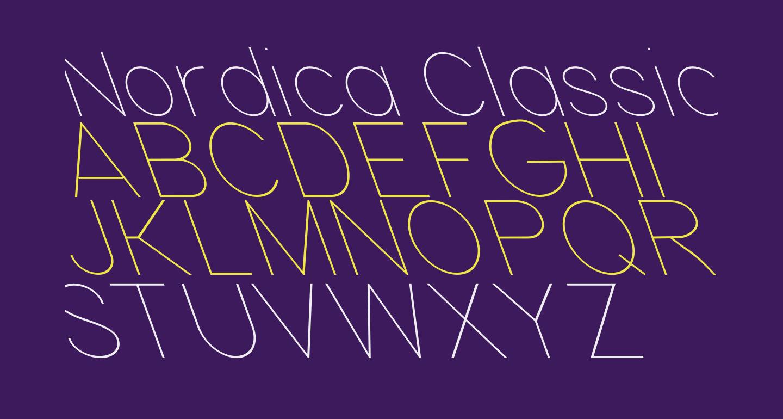 Nordica Classic Ultra Light Opposite Oblique