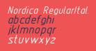 Nordica  RegularItalic