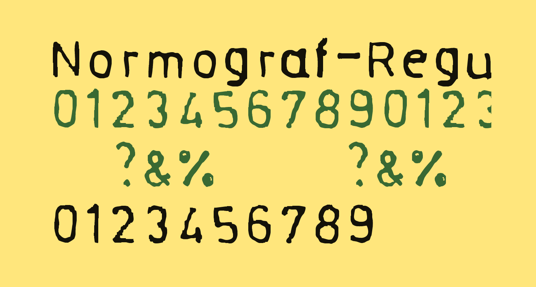 Normograf-Regular