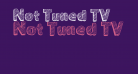 Not Tuned TV
