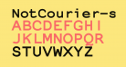 NotCourier-sans-Bold
