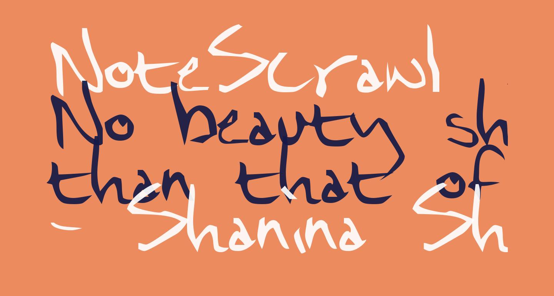 NoteScrawl