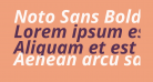 Noto Sans Bold Italic