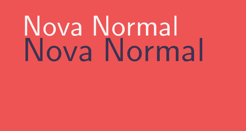 Nova Normal