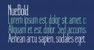 NueBold