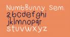 NumbBunny SemiBold