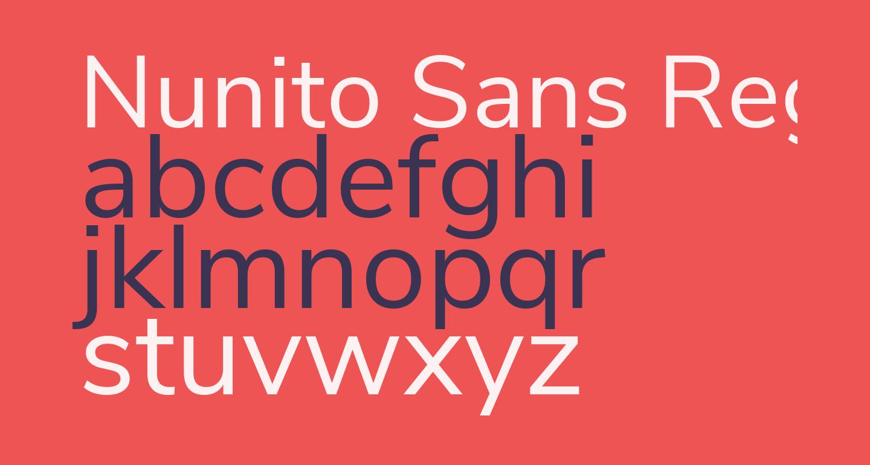 Nunito Sans Regular