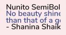 Nunito SemiBold