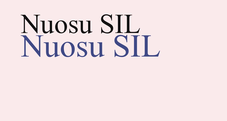 Nuosu SIL