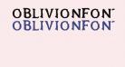 OblivionFont