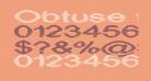 Obtuse two