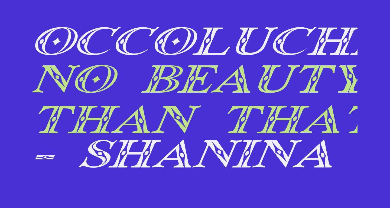 Occoluchi Italic