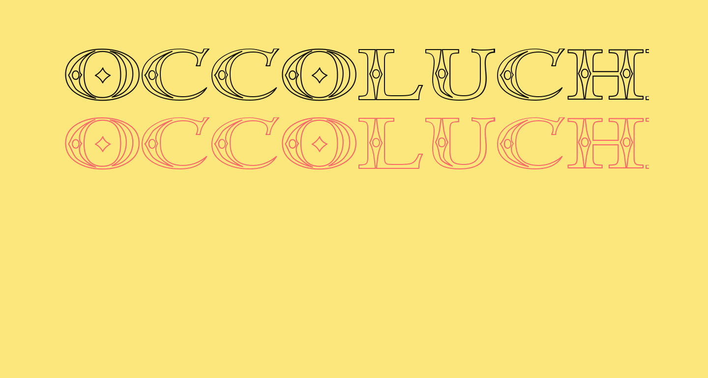 Occoluchi Outline