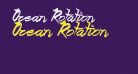 Ocean Rotation