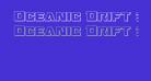Oceanic Drift 3D Regular