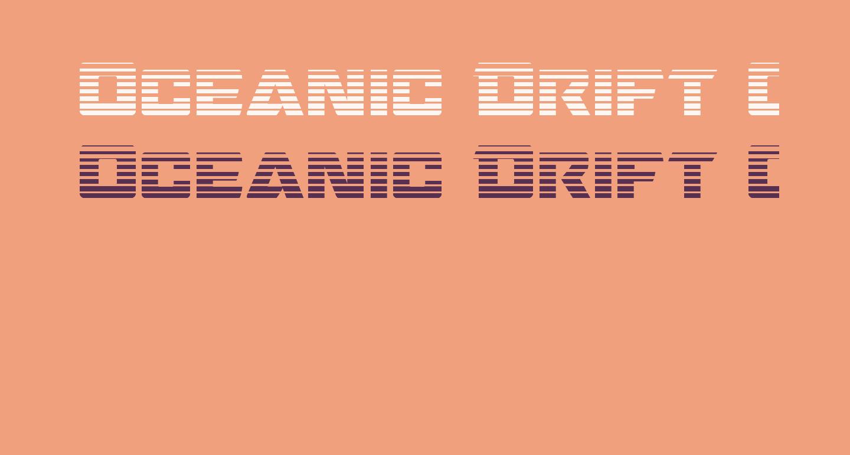 Oceanic Drift Gradient Regular
