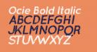 Ocie Bold Italic