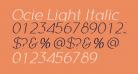 Ocie Light Italic