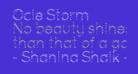 Ocie Storm