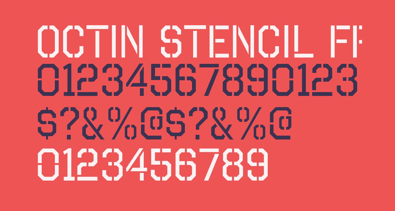 Octin Stencil Free