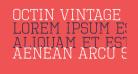 Octin Vintage Free